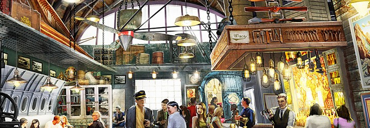 Jock Lindsey's Hangar Bar to open in the fall of 2015 at Downtown Disney