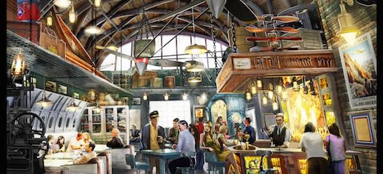 Disney Reveal A Lot More Detail On Jock Lindsey's Hangar Bar