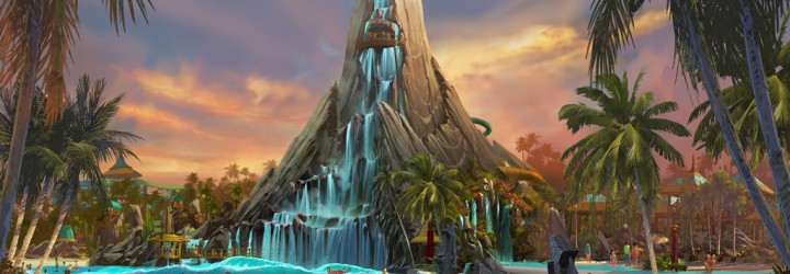 Universal Announce New Water Park – Volcano Bay