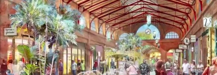 New Concept Art at Disney Springs showcases the Town Center