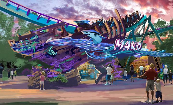 SeaWorld Orlando to Debut Shark-Inspired Coaster Mako in 2016