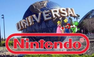 Universal Studios and Nintendo Logo