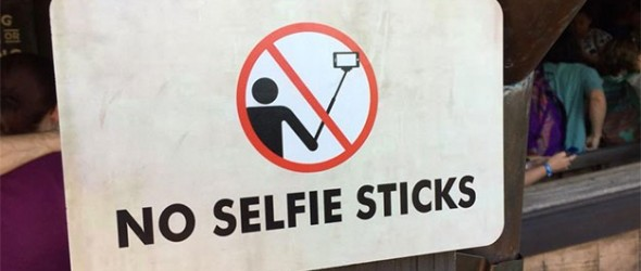 Disney Makes a Stand on Selfie Sticks