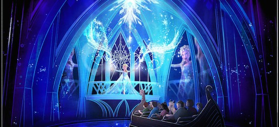 Disney Showcases Ice Palace Boutique As Part Of Frozen Summer Fun