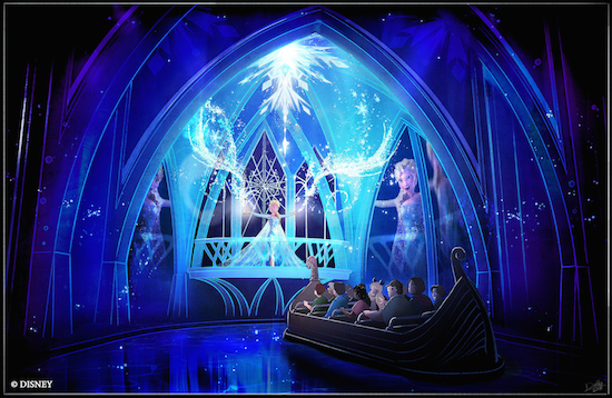 Frozen to Replace Aladdin Musical at Disney's California Adventure