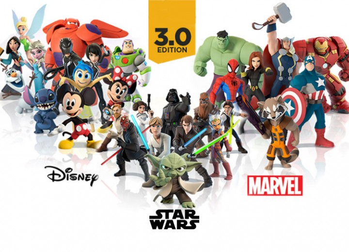 full list of disney infinity characters