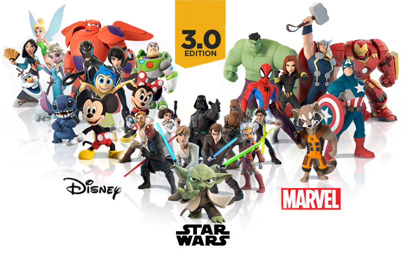 Disney Infinity 3 0 Complete List Of Characters And Playsets