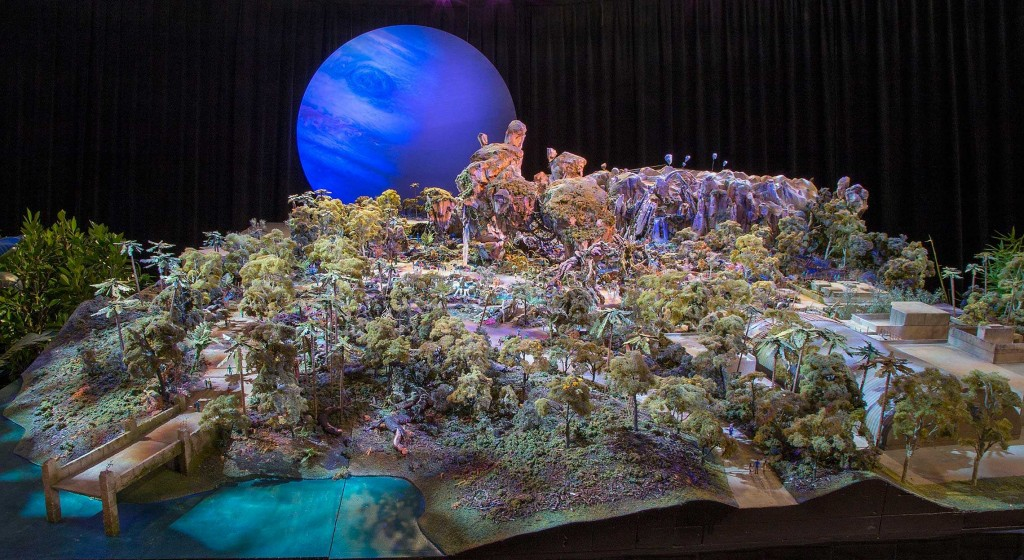 Pandora the world of AVATAR D23 model