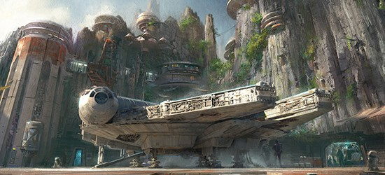 Harrison Ford to Reveal Star Wars Land Details