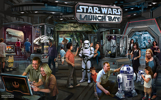 Disney Adds Force Awakens Scene Early to Star Tours