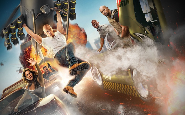 Fast and Furious attraction poster