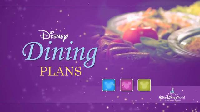Disney Dining Plan Logo