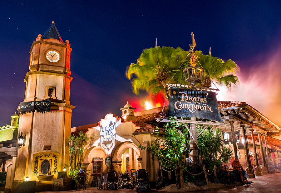 Pirates of the Caribbean exterior