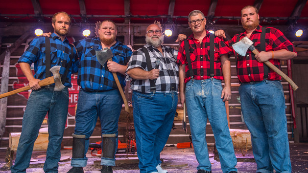 Epcot's Canadian Lumberjacks Show Ending