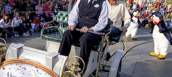 Dick Van Dyke Celebrates 90th Birthday at Disneyland