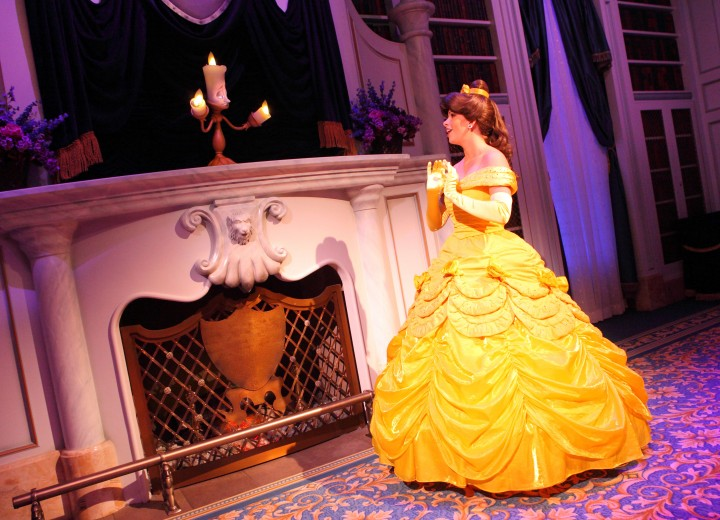 Enchanted Tales with Belle removed from evening Extra Magic Hours