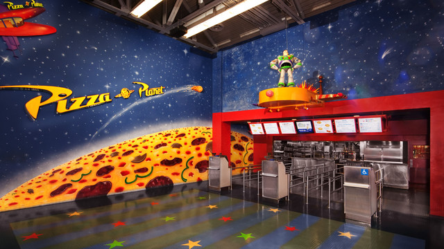 Pizza Planet Closing For Lengthy Refurbishment