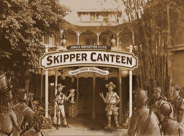 Skipper Canteen concept art at the Magic Kingdom in Walt Disney World