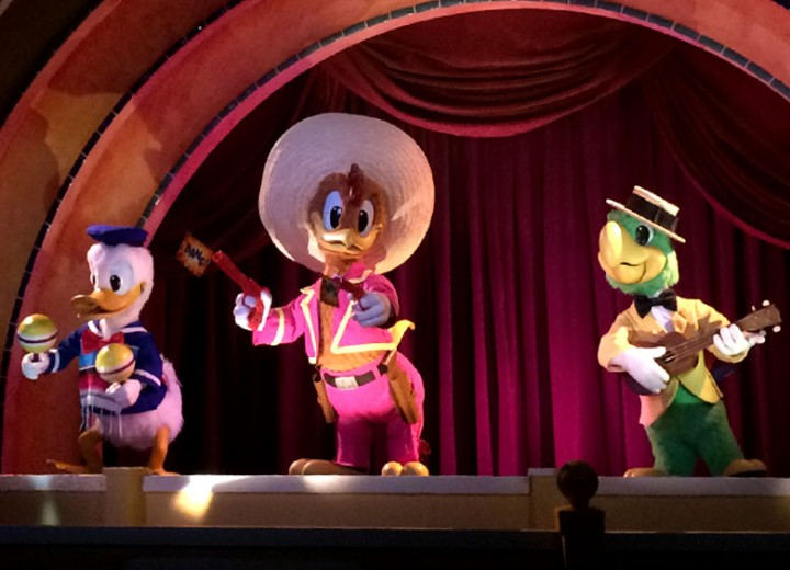 Three Caballeros Animatronics Welcomed Home to Walt Disney World