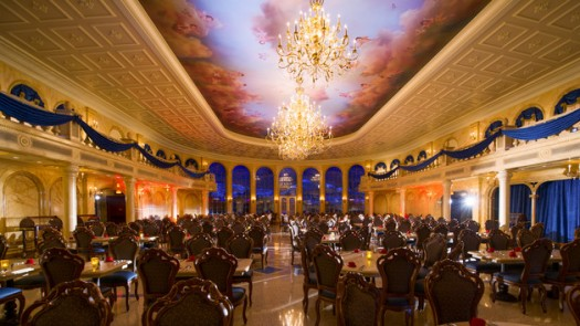 Be Our Guest restaurant - The Grand Ballroom