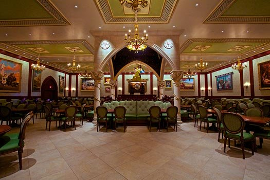 Be Our Guest Restaurant - The Rose Gallery Dining Room