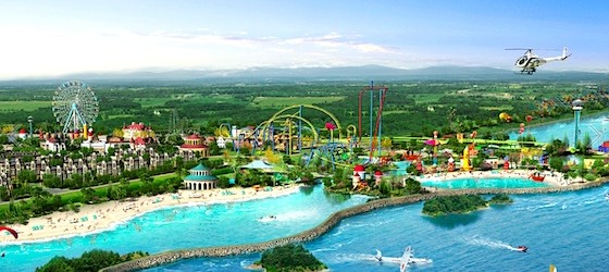 Six Flags China Breaks Ground – Opening in 2019