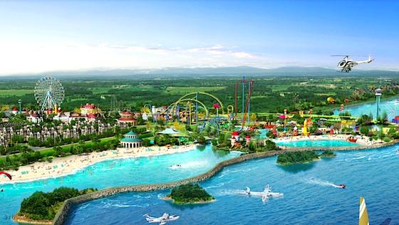 Six Flags China Concept Art