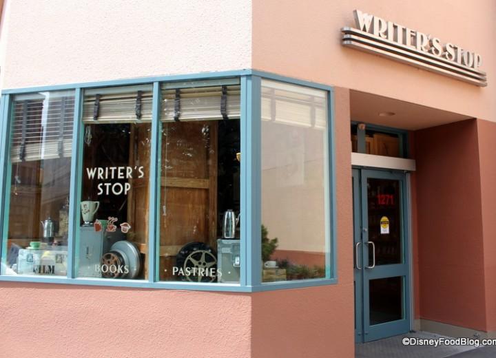 Writer's Stop Not Closing April 2nd At Disney's Hollywood Studios