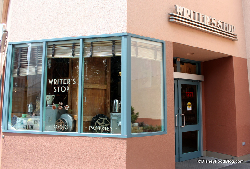The Writers Stop exterior at Disney's Hollywood Studios