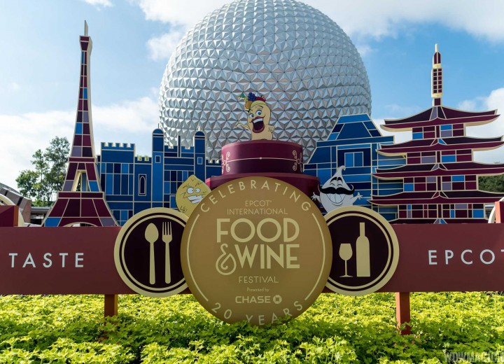 2017 Epcot Food & Wine Festival Booth Menus!