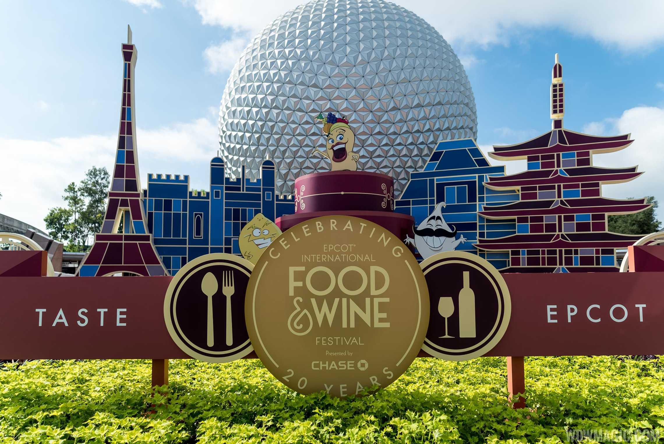 Disneyland Food And Wine Festival  Menu