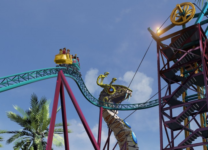 Cobra's Curse Opening June 17 at Busch Gardens Tampa