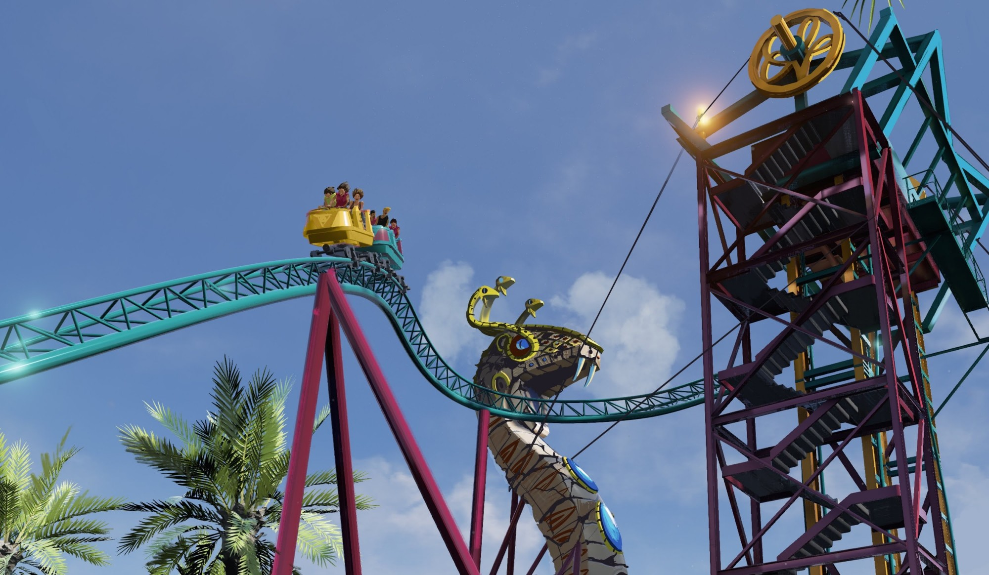 Cobra 39 S Curse To Feature Live Snakes At Busch Gardens