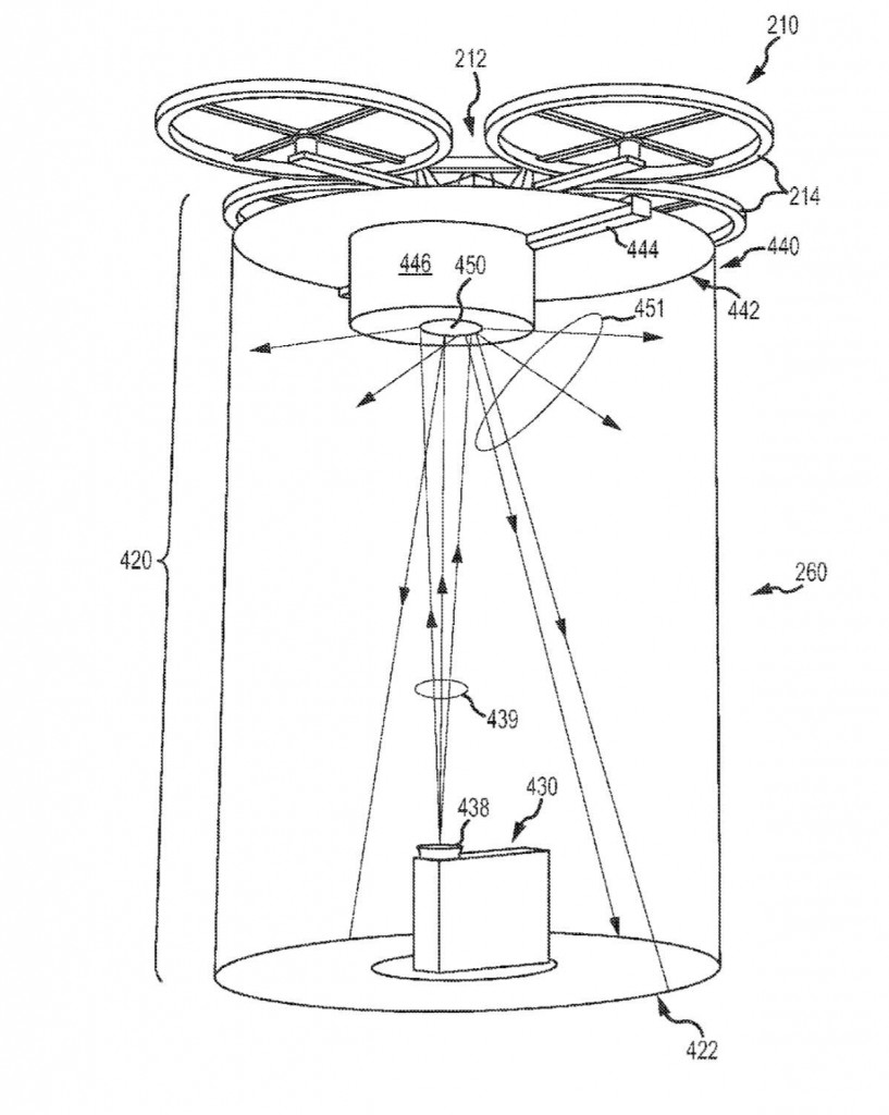Disney drone projection patent