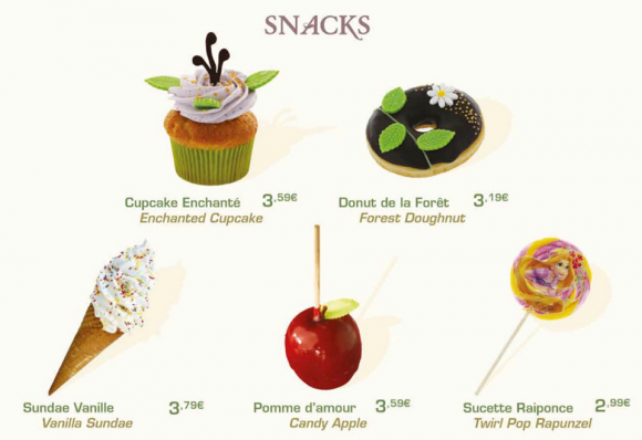 Disneyland Paris Spring snacks
