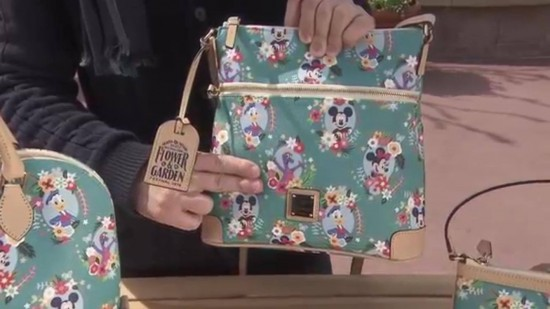 Epcot Flower and Garden Festival 2016 Dooney and Bourke handbags
