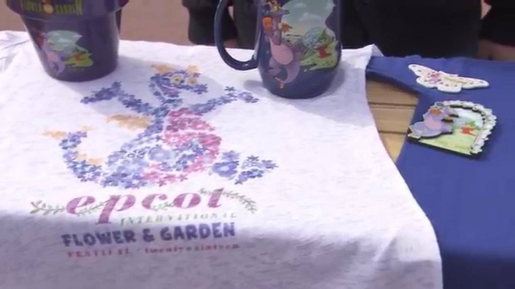 Epcot Flower and Garden Festival 2016 merchandise overview