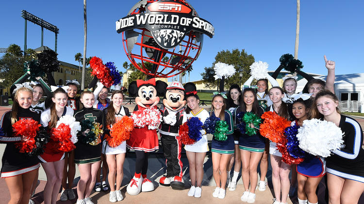 ESPN Wide World of Sports Cheerleading Squad