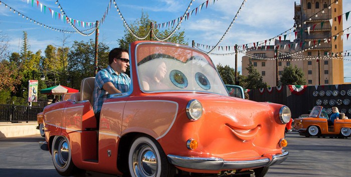 Luigi's Rollickin' Roadsters Opening in March at Disneyland