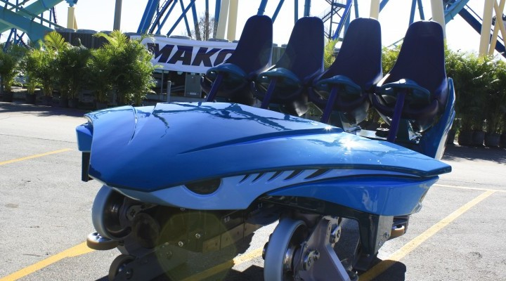 SeaWorld Orlando Shows Off Mako Coaster Ride Car