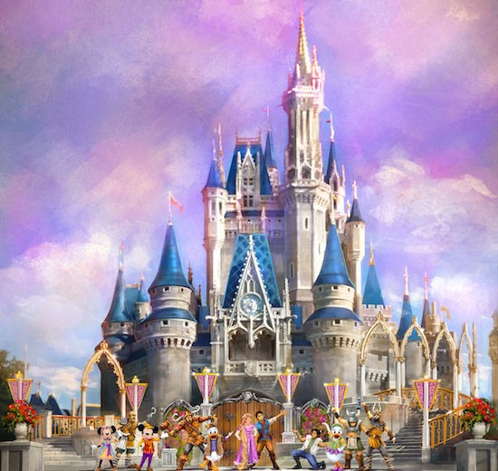 Mickey's Royal Friendship Faire Show Coming to Cinderella's Castle