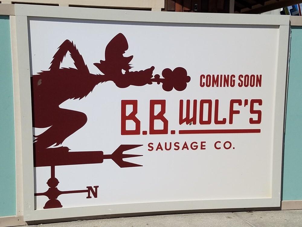 BB Wolfs Sausage Company at Disney Springs