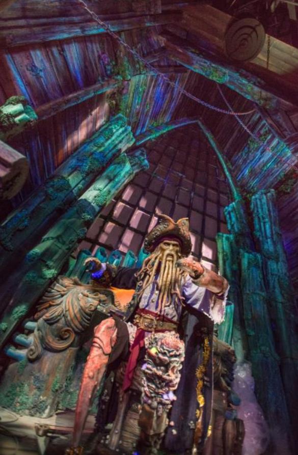 Davy Jones - Pirates of the Caribbean Battle for the Sunken Treasure