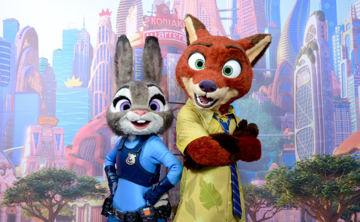Zootopia Characters coming to Disney Parks