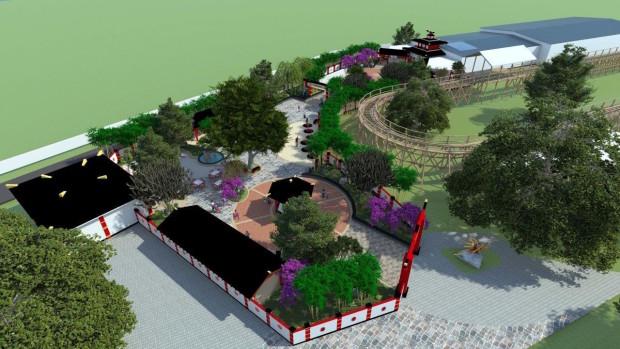 Legoland Florida Ninjago World concept art