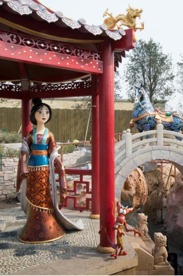 Mulan at Voyage to the Crystal Grotto