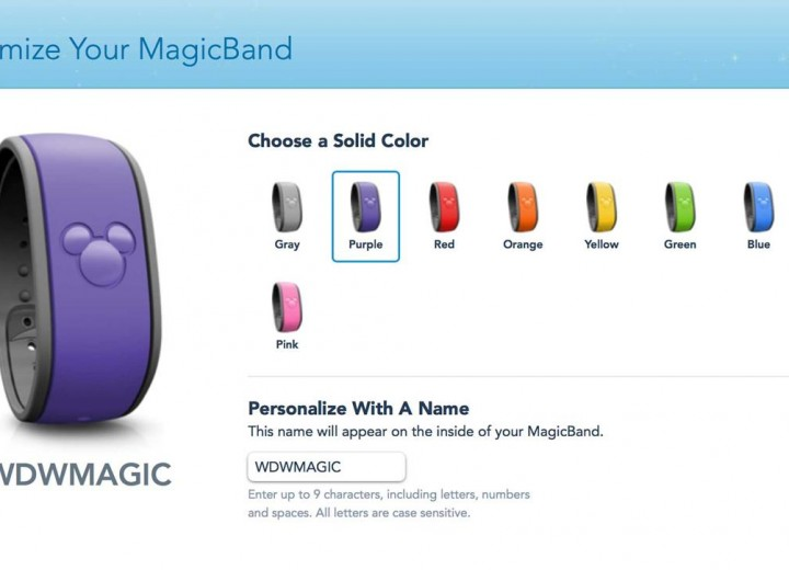 Purple MagicBand Now Available Without Purchase!