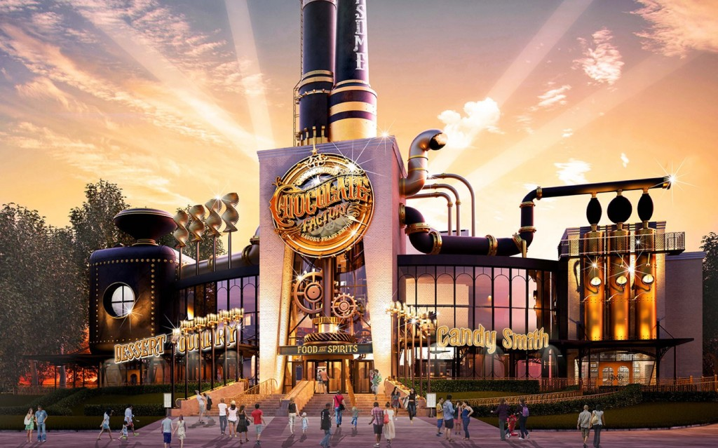 Toothsome Chocolate Factory concept art exterior