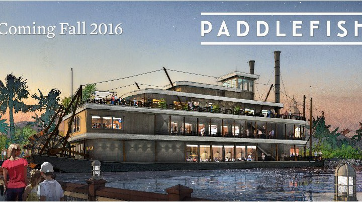 New Concept Art for Paddlefish at Disney Springs Revealed
