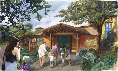 Tiffins Restaurant Opening at Disney's Animal Kingdom this Summer